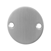 Blind rose GPF0900.06 50x2mm satin stainless steel