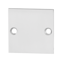 Blind rose GPF0900.48 50x50x2mm polished stainless steel