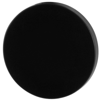Blind rose GPF6900VZ 53x6mm plain black
