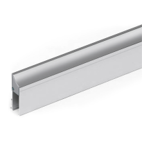 Cassette/holder profile for drop seal 1000 mm, aluminium