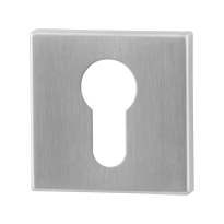 Cylinder rose GPF0902.02 50x50x8mm satin stainless steel