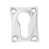 Cylinder rose GPF0902.49 48x38x5mm polished stainless steel