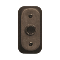 Doorbell 108 rectangular 80x40 mm antique bronze