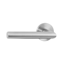 GPF115VR door handle on rose pointing left