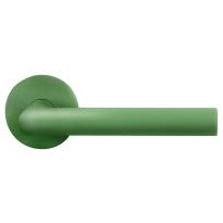 GPF115VRU3 door handle on rose