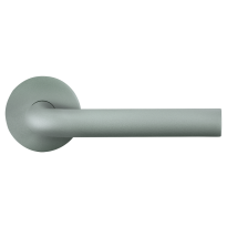 GPF100VRU2 door handle on rose pointing right