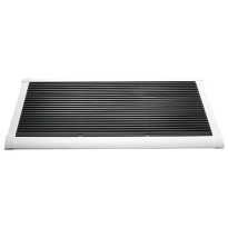 RiZZ Door mat white 'The New Standard'