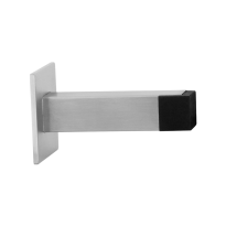 Door stop GPF0739.09 satin stainless steel