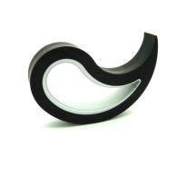 Doorstopper Stoppy black, 10x8x2 cm