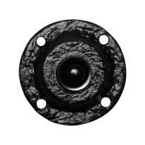 Doorbell KP0751 round 58 mm whrought iron black
