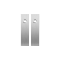 Short backplate GPF1100.15 satin stainless steel