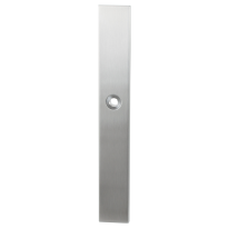 Long backplate XL GPF1100.75 satin stainless steel