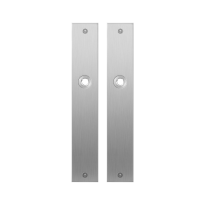 Flat backplate GPF1100.27 satin stainless steel