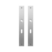 Flat backplate GPF1100.28 lock 56 satin stainless steel