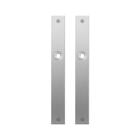 Flat backplate GPF1100.28 satin stainless steel