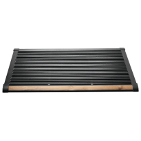 RiZZ Door mat anthracite/teak 'The New Standard'
