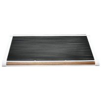 RiZZ Door mat silver/teak 'The New Standard'