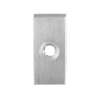 Rose GPF1100.01 70x32x10mm satin stainless steel