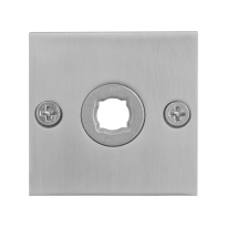 Rose GPF1100.08 50x50x2mm satin stainless steel