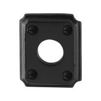 Rose GPF6100.02 59x48x6mm wrought iron black