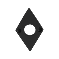 Rose GPF6100.07 83x52x4mm wrought iron black