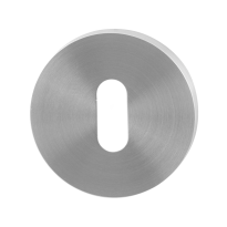 Keyhole escutcheon GPF0901.00 50x8mm satin stainless steel