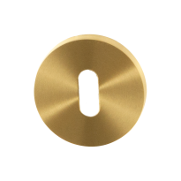Keyhole escutcheon GPF0901.00P4 50x8mm PVD satin brass