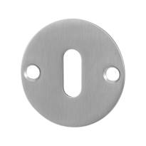 Keyhole escutcheon GPF0901.06 50x2mm satin stainless steel