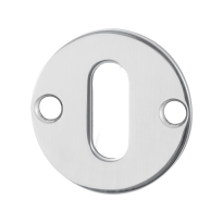 Keyhole escutcheon GPF0901.47 38x2mm polished stainless steel