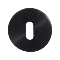Keyhole escutcheon GPF0901VRP1 53x6,5mm PVD antracite