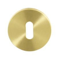 Keyhole escutcheon GPF0901VRP4 53x6,5mm PVD satin brass