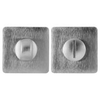 Turn and Release set 6031/114RFV satin chrome