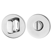 Turn and Release set GPF0910.45 50x6mm spindle 8mm polished stainless steel large knob