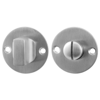 Turn and Release set GPF0911.06 50x2mm spindle 5mm satin stainless steel large knob