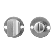 Turn and Release set GPF0911.07 38x2mm spindle 5mm satin stainless steel large knob