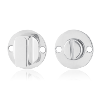 Turn and Release set GPF0911.47 38x2mm spindle 5mm polished stainless steel large knob