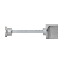 Turn and Release set GPF1111.09 spindle 5mm satin stainless steel large knob