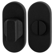 Turn and Release set GPF8910.04 70x32mm spindle 8mm black large knob
