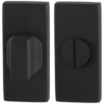 Turn and Release set GPF8911.01 70x32mm spindle 5mm black large knob