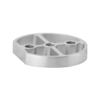 Door stop spacer GPF0731.09 satin stainless steel