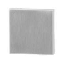 Blind rose GPF0900.02 50x50x8mm satin stainless steel