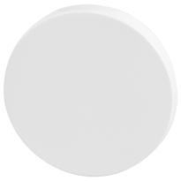 Blind rose GPF6900VW 53x6mm plain white