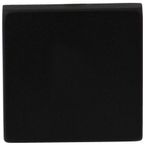 Blind rose GPF8900.02 50x50x8mm black