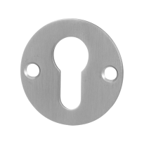 Cylinder rose GPF0902.06 50x2mm satin stainless steel
