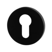 Cylinder rose GPF6902VZ 53x6mm plain black