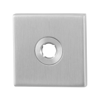 Rose GPF1100.02 50x50x8mm satin stainless steel