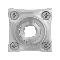 Rose GPF1100.09 38x38x5mm satin stainless steel