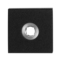 Rose GPF8100.02 50x50x8mm black