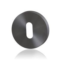 Keyhole escutcheon GPF0901.00P1 50x8mm PVD antracite