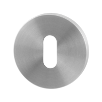 Keyhole escutcheon GPF0901.05 50x6mm satin stainless steel